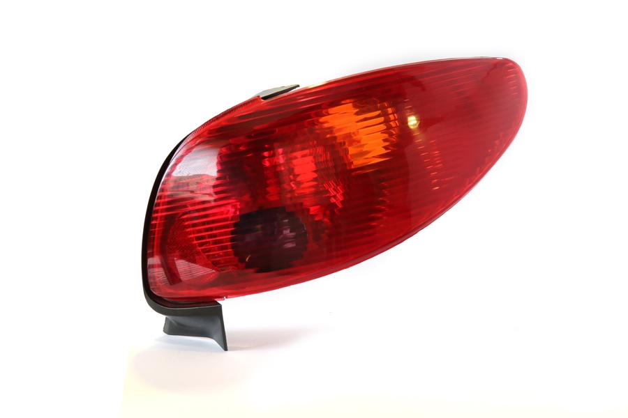 چراغ خطر عقب 206